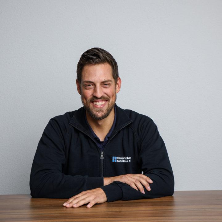 Robin Lüscher Mitarbeiter bei HauserTschan Kälte Klima AG